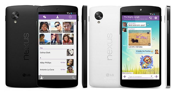 Viber for Google Nexus