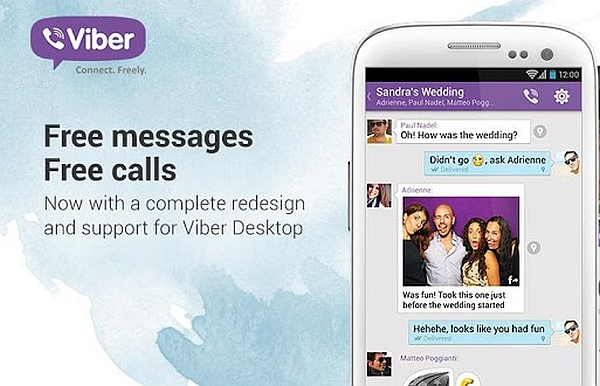 Video Chat with Viber for Samsung Galaxy S5