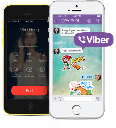 Personalize your Viber settings - Androi