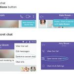 Viber launched Chat Feature which self-destructs and can't be shared