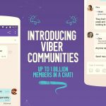 Unlimited chat communities on Viber